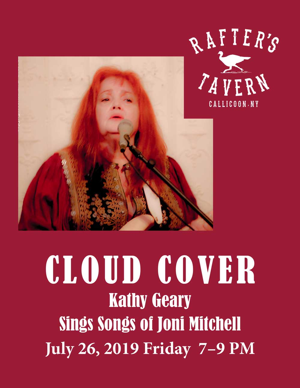 CLOUD COVER Kathy Geary Sings the Songs of Joni Mitchell
